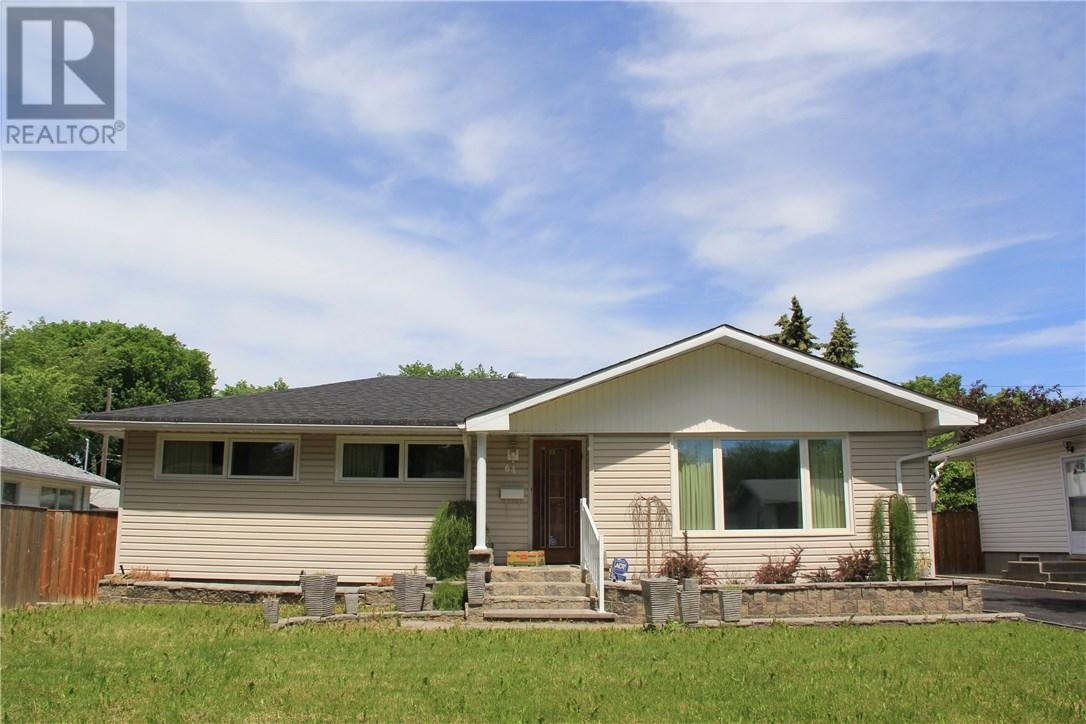 64 Gardiner Ave, Regina, Saskatchewan  S4S 4P6 - Photo 1 - SK710557